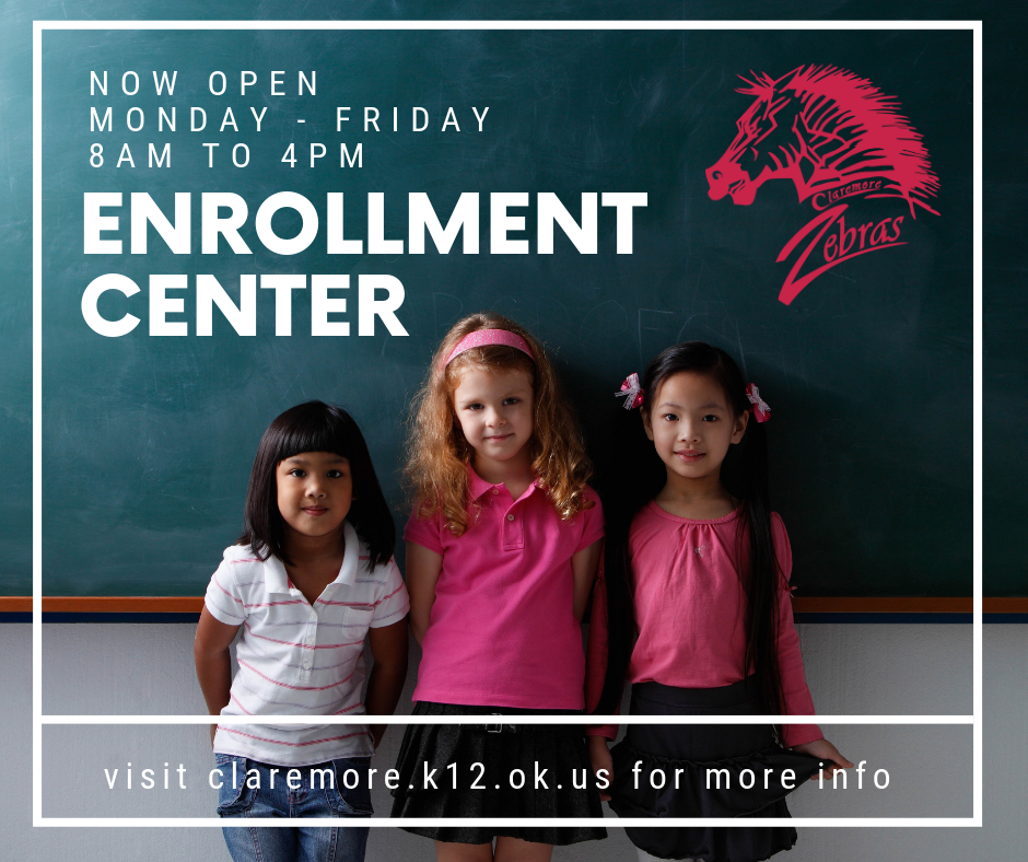 Enrollment Center NOW OPEN