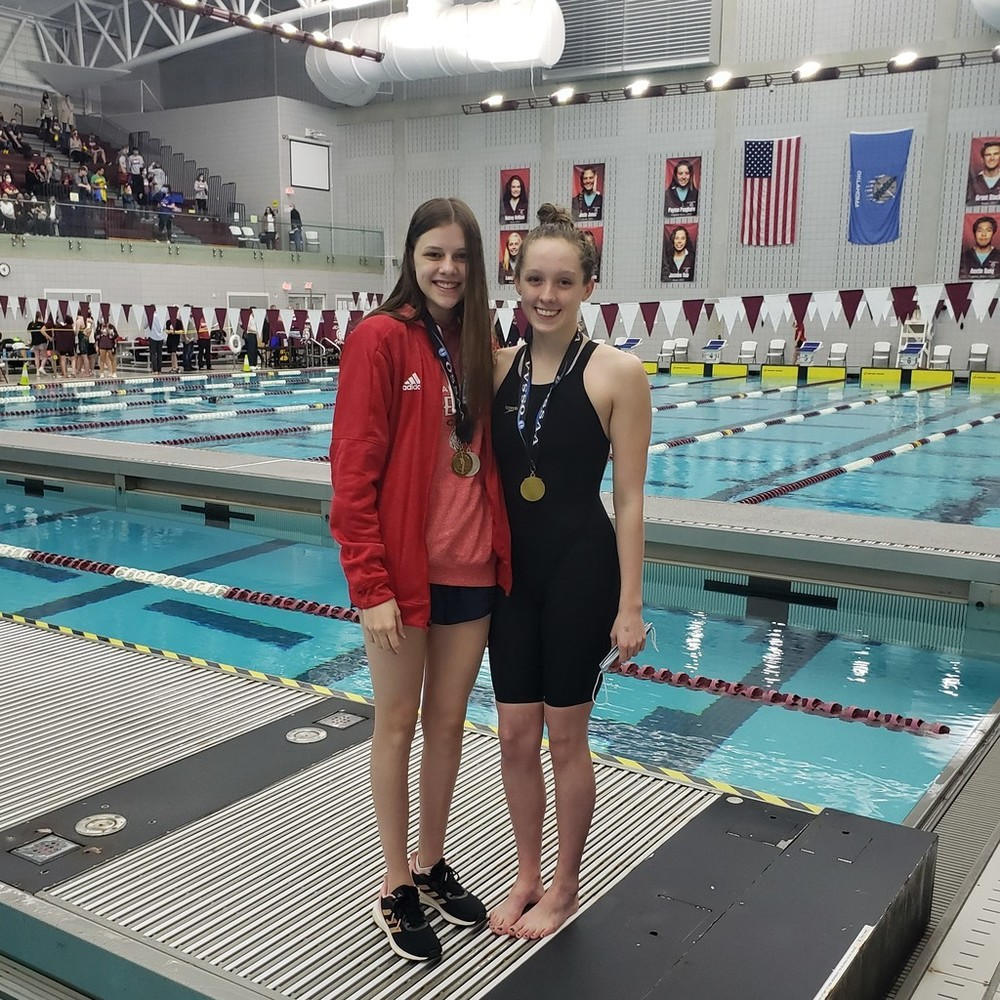 Admire places 2nd in 6A State Swim Meet