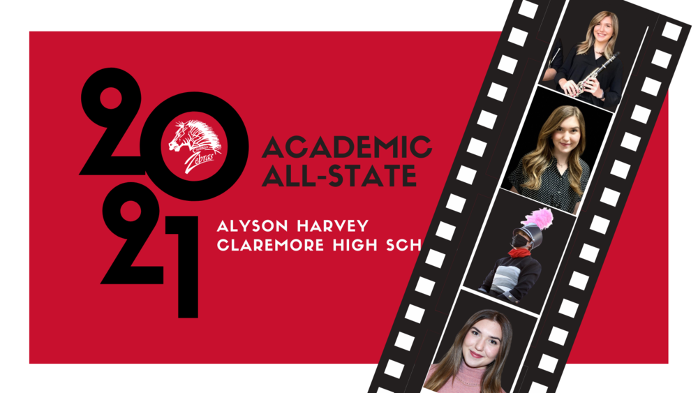 Alyson Harvey 46th CHS Academic All-State Recipient