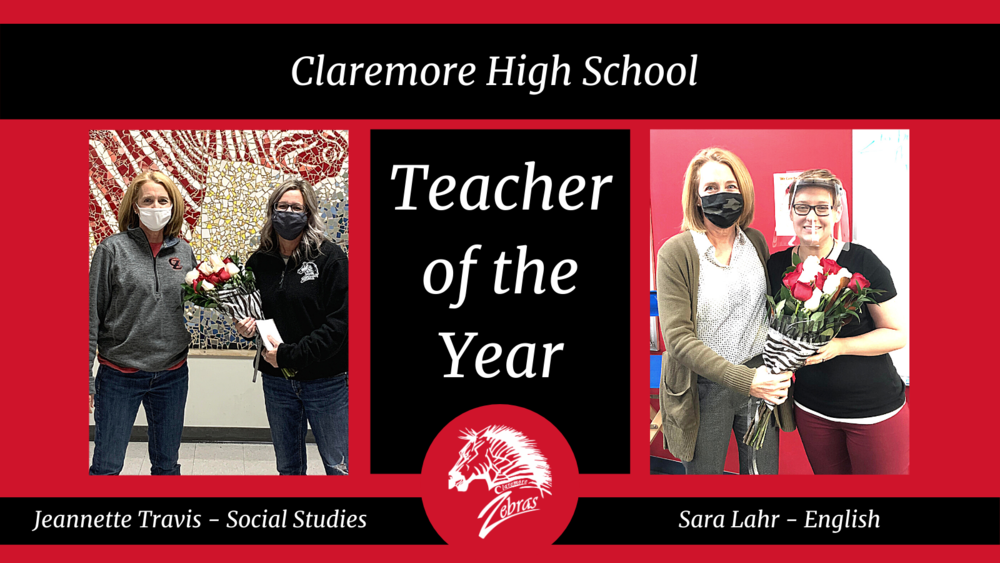 CHS Announces  Two Teacher of the Year Winners