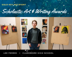 Lee Ferrel Receives Prestigious Scholastic Art Award