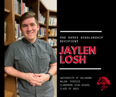 Jaylen Losh Selected as a Gates Scholar