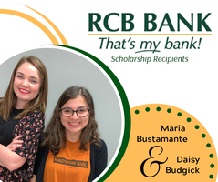 RCB BANK Awards 2 Scholarships