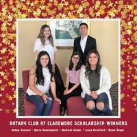 Rotary Scholarship Recipients