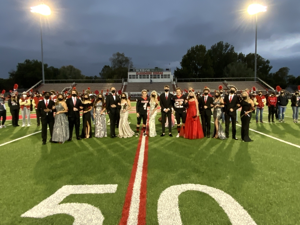 2020 Homecoming Royalty.