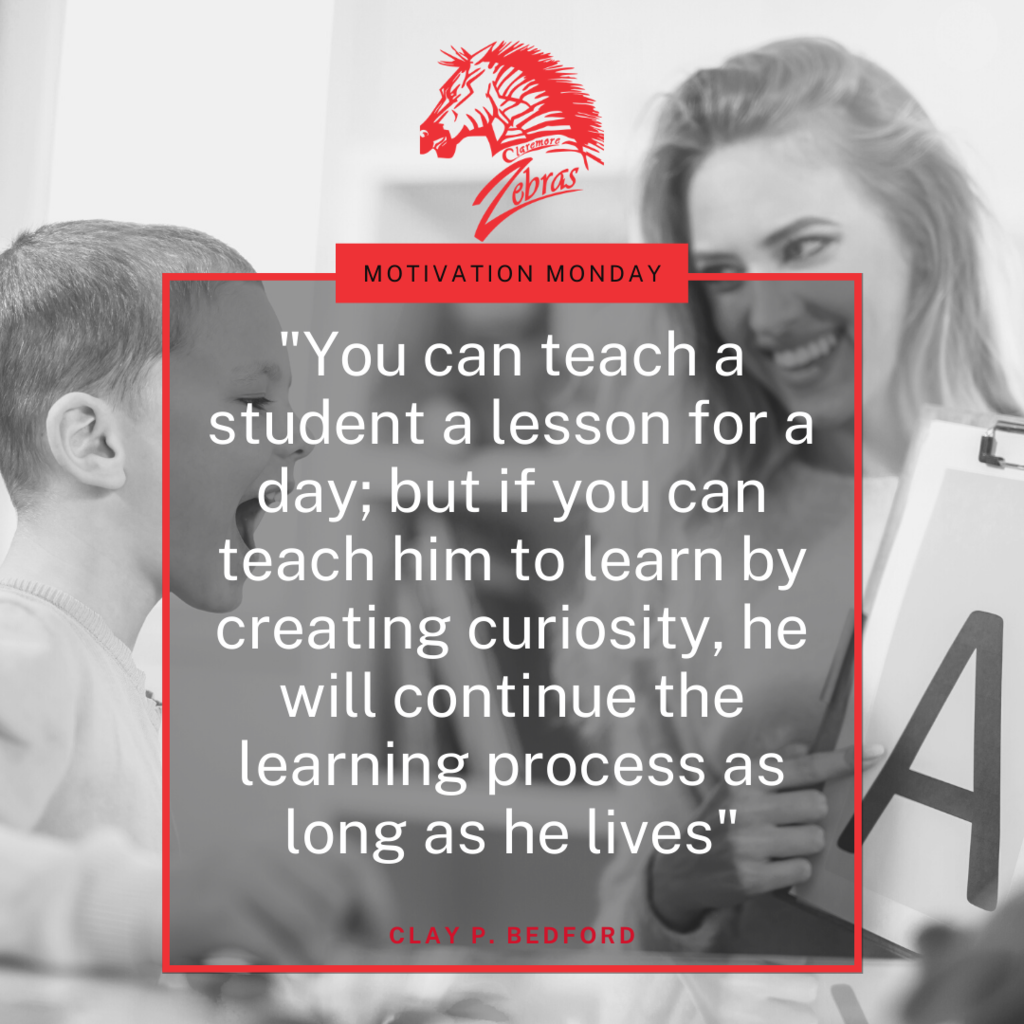 Tag a teacher who sparked curiosity in your life.