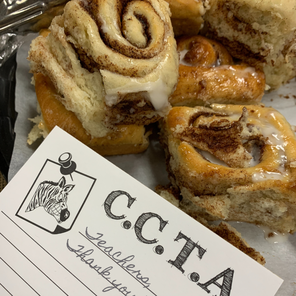 Cinnamon rolls from CCTA