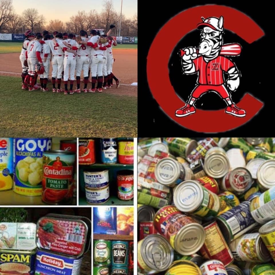 This past week our CHS baseball team took some time out to serve others and fill the RCSO food pantry.