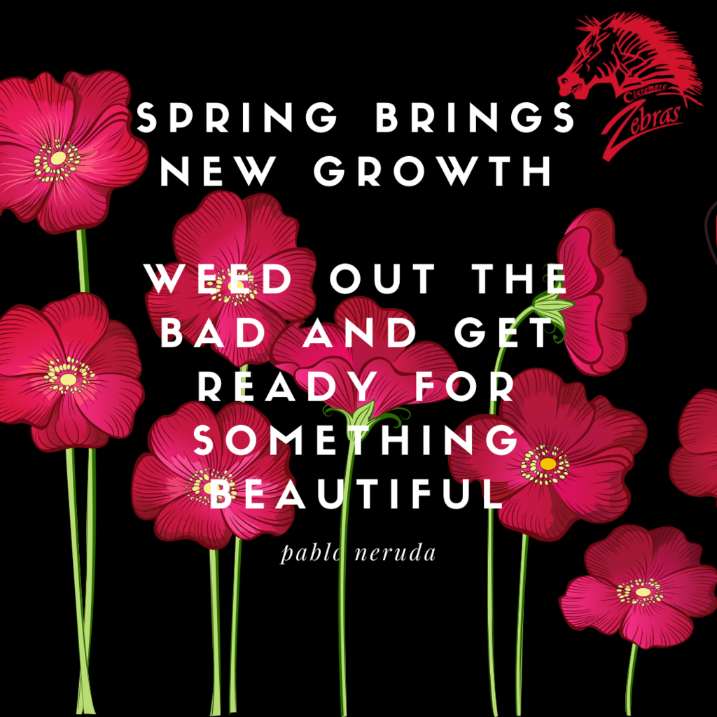 spring bring new growth