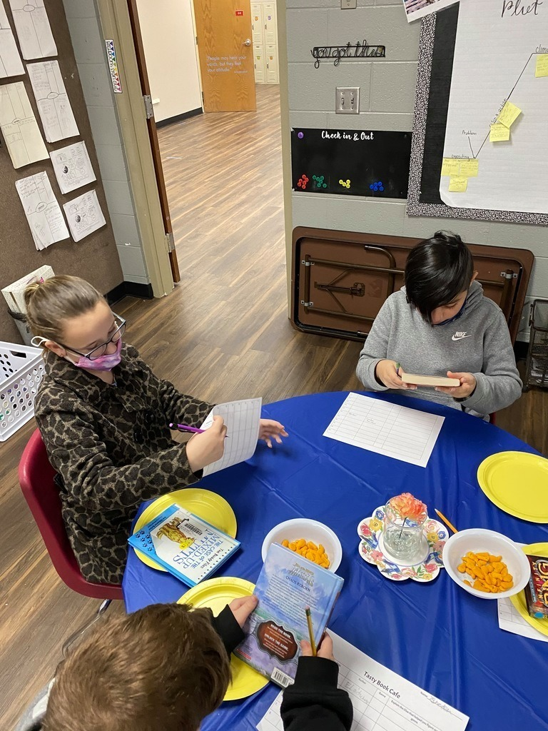 """You Can't Taste a Book by it's Cover"" is a whimsical title to a book tasting event held by Mrs. Schell's 4th grade class."