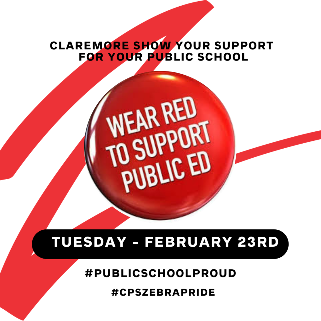Wear RED for ED February 23rd