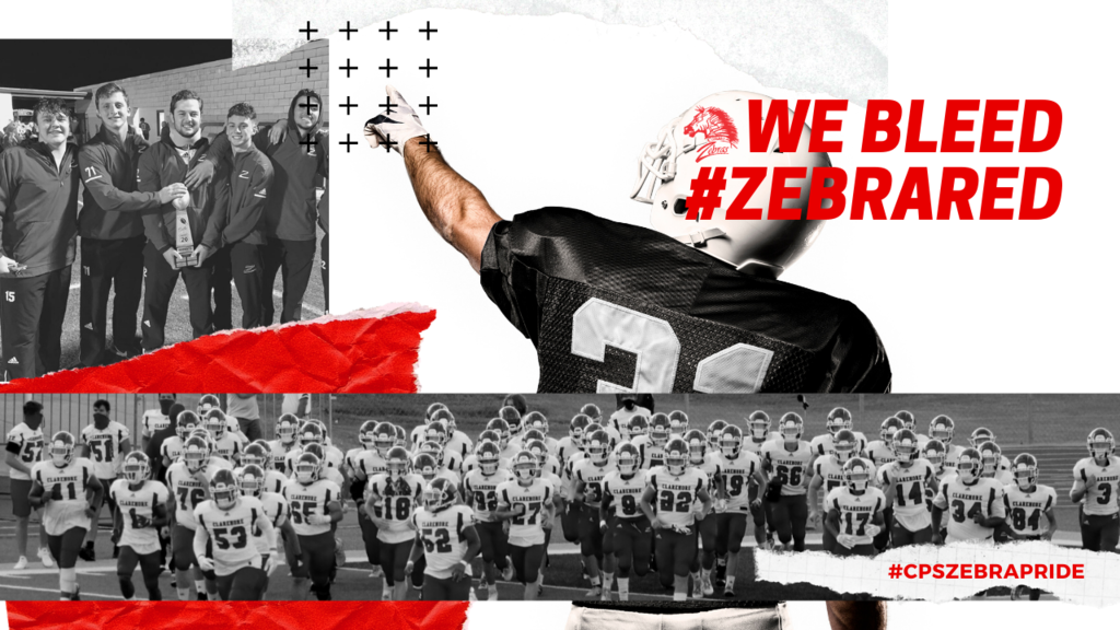 We Bleed #ZEBRARED  Coach Hurt will host a meeting for both parents and players entering the 7th - 12th grades interested in being on the team. The meeting will be on May 3rd at 6:00 PM in the new gym. Information about Zebra athletics, summer pride, physicals, and practice packs will be discussed. COVID protocols are still in place, so please wear a mask. If you have any questions, contact Coach Hurt at jhurt@claremore.k12.ok.us.   #CPSZEBRAPRIDE