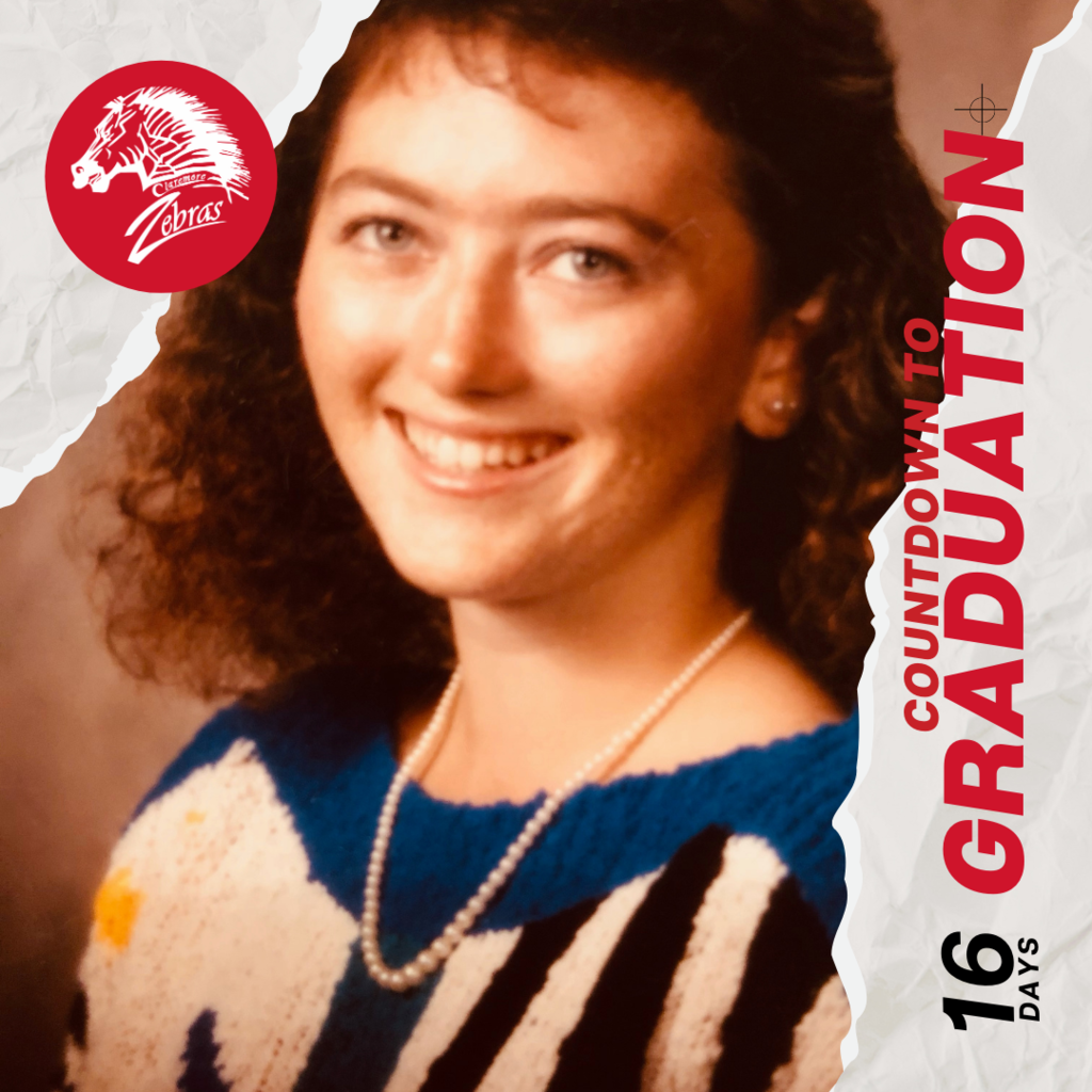 🎓 It's May, and we know what that means… COUNTDOWN TO GRADUATION!   Let's have a little fun as we anticipate and reflect on the last 13 school years of the Class of 2021!  Over the next 21 days, we will feature a graduation/senior photo of one of the teachers who helped build a foundation for this graduating class at CPS.   🎓16 days - What do you know about this teacher?