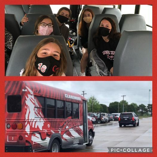 Lady Zebra Golf Team headed to Chickasaw Point for the 5-A State Golf Tournament. Congratulations to Coach Henderson, Abby, Arlie, Caroline, Reece, and Hadley! We are so proud of you! Have fun! Make memories!  Show your #CPSZEBRAPRIDE!