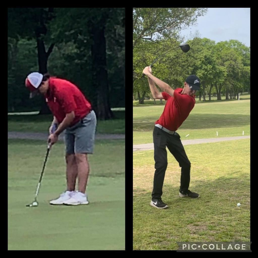 Zebra Golf senior Christian secured his 3rd straight appearance to the 5-A State Golf Tournament while senior Hayden plays his way to his first State Tournament in 2021. They are headed to Meadowbrook! #ZebraGolf2021