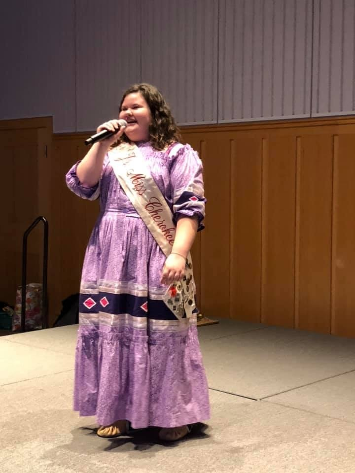 Jr. Miss Cherokee attends Horizon