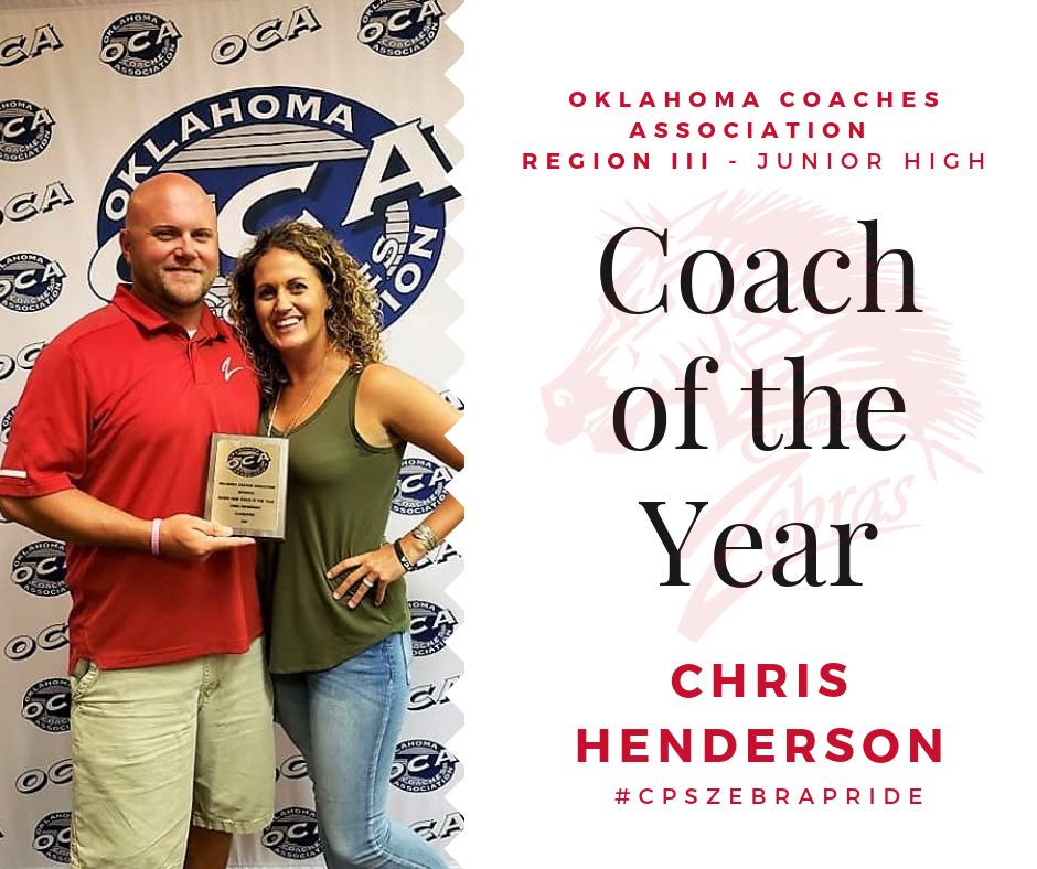OCA JRHI Coach of the Year