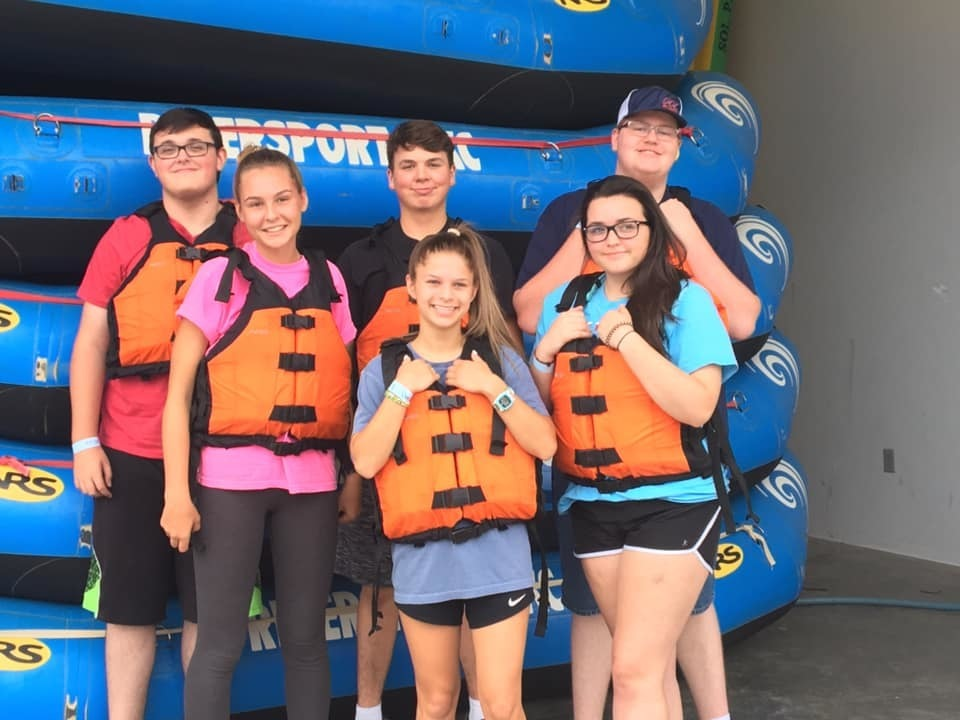FFA LEADERSHIP RETREAT WHITEWATER RAFTING