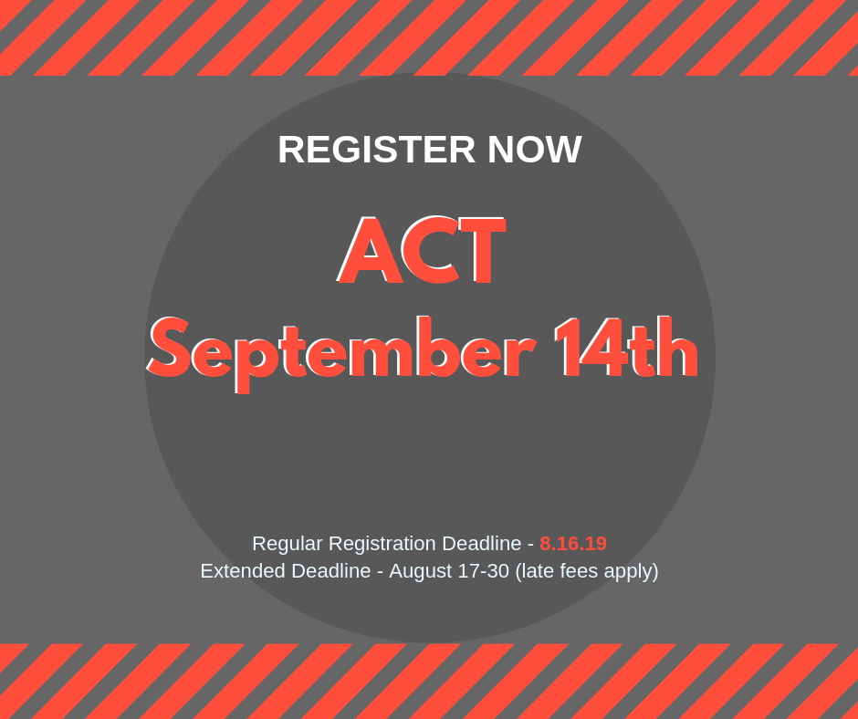 ACT September 14th