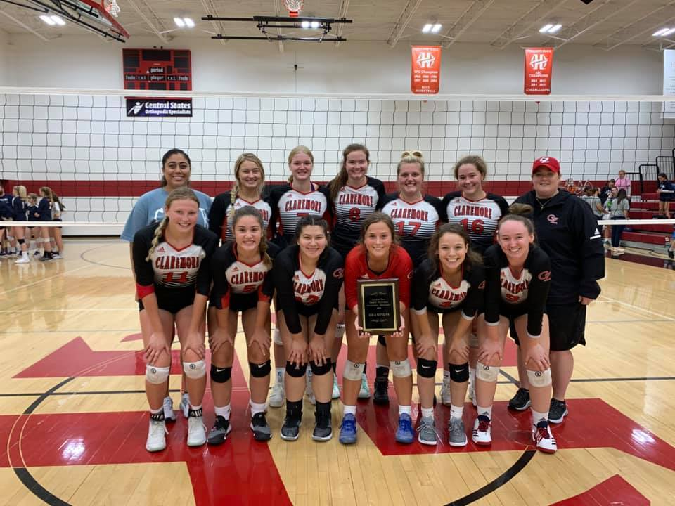 CHS varsity volleyball team won the Holland Hall Invitational Tournament.