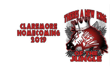 Claremore Homecoming Logo