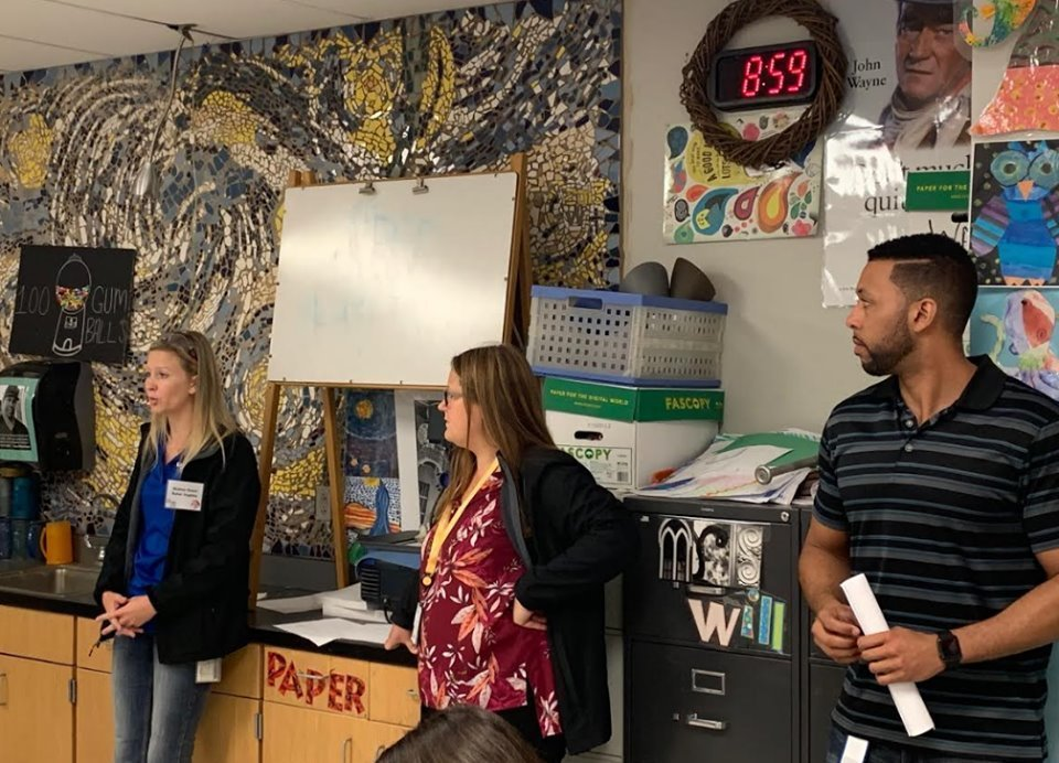 CIEDA hosts career day for WRJH 6th graders