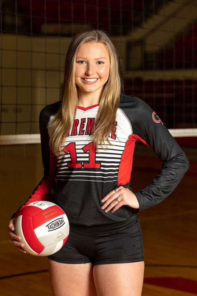 Brooke Jones for Miss Volleyball