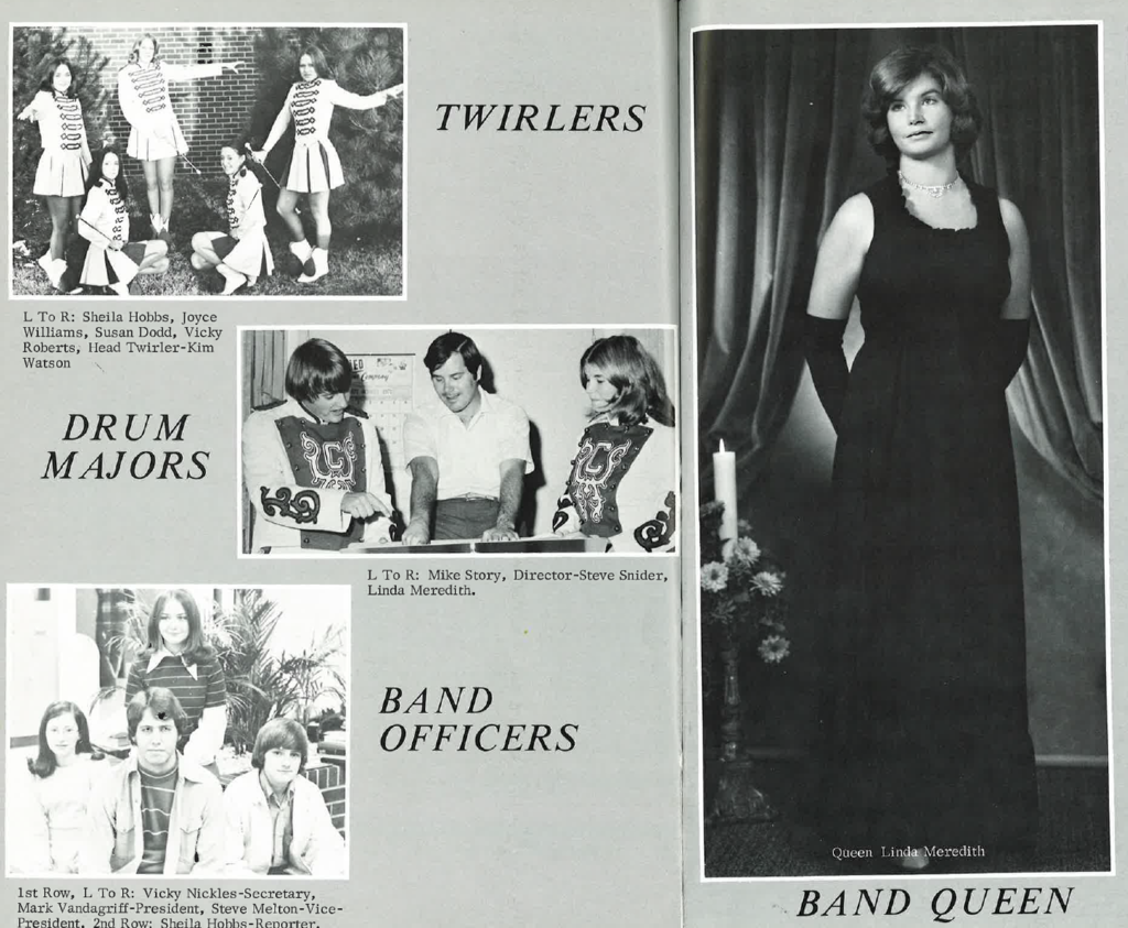 Claremore Class of 1974 Band Royalty