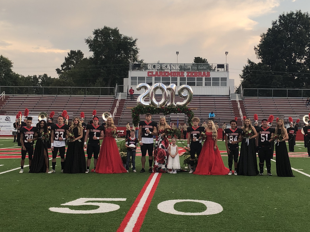 CHS homecoming court 2019