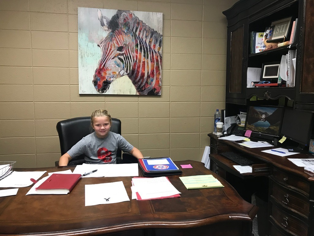 Principal of the Day - Claremont Elementary
