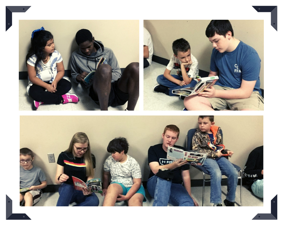 Claremore FFA Reads with Roosa