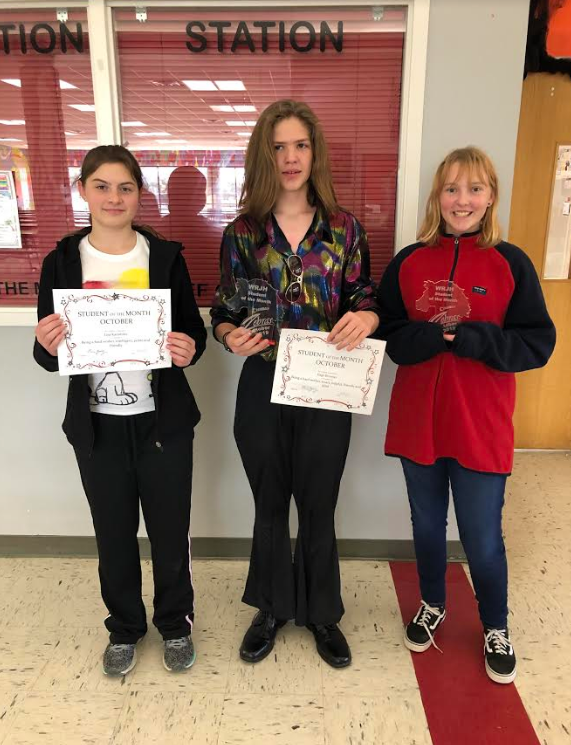 WRJH Students of the Month