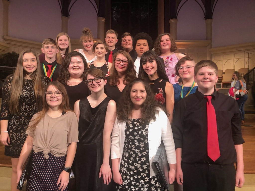 25 CPS students make the NCDA All District Honor Choir