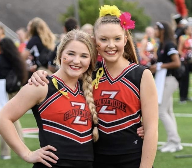 Sydney Callender and Jayla Hurt made All State for Cheer!