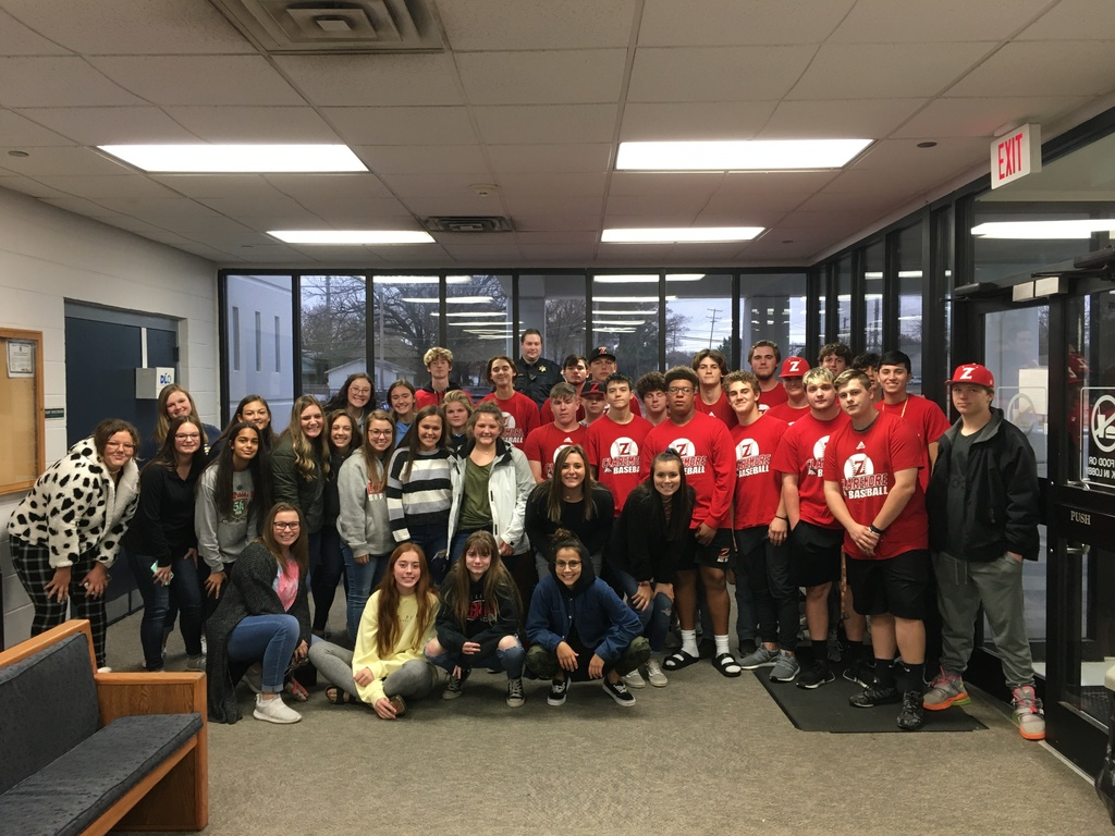 CHS baseball and softball players held a canned food drive to help stock the Rogers County Sheriff's Dept. Food Pantry.
