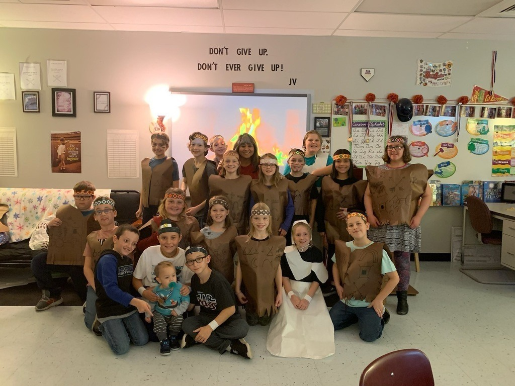 Roosa Elementary celebrates the traditions of Thanksgiving