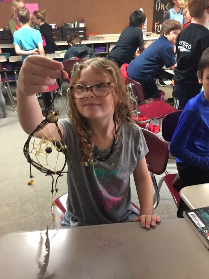Claremont Elementary 3rd graders created a Native American Museum