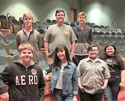 All-State High School Choir students