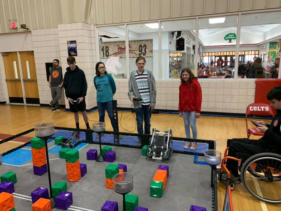 Claremore Robotics held the first tournament of the season with 39 teams from across the state competing.