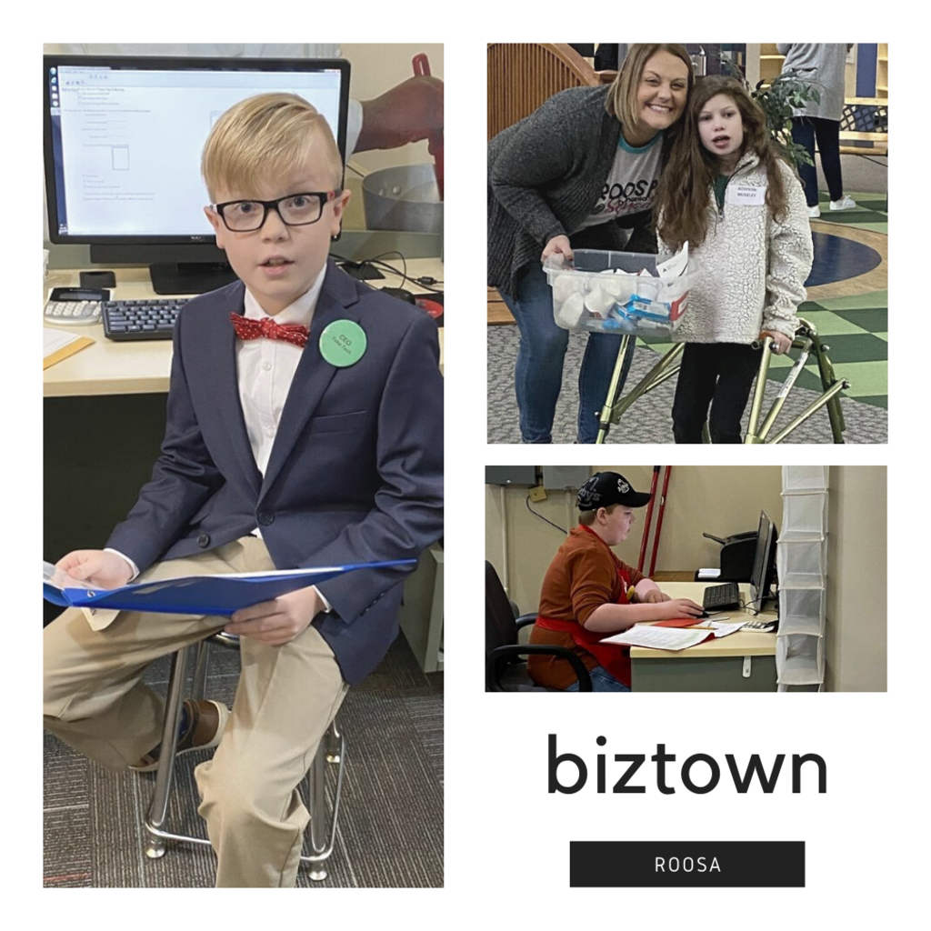 Roosa 5th grade students prepared for months for  Biztown.