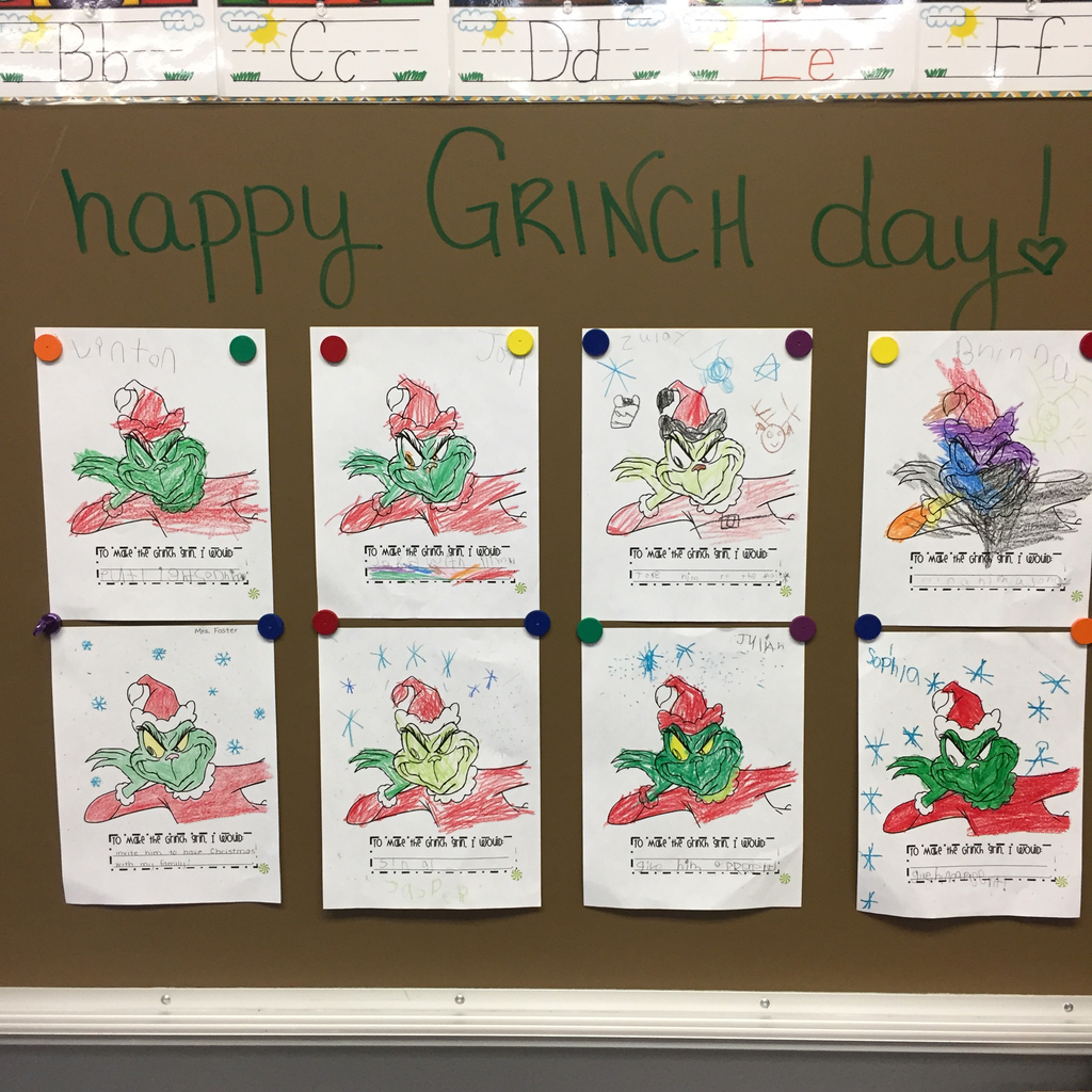 Grinch writing activity