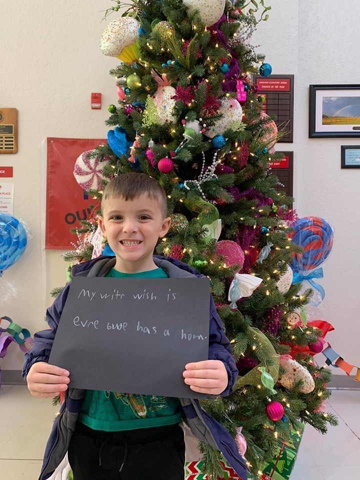 Mrs. Lewis' Little Learners Christmas Wishes