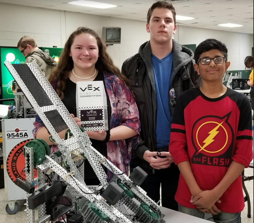 Will Rogers Junior High competes at the Catoosa VEX Robotic Tournament.