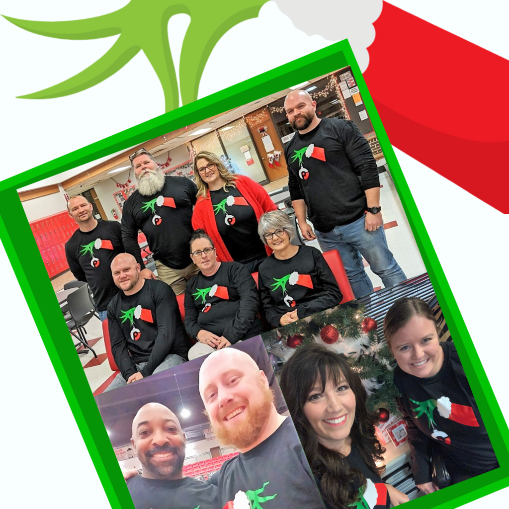 CHS staff participate in Grinch Day