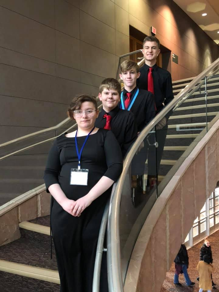 Congratulations to all of the All-State Choir Members from Claremore High School