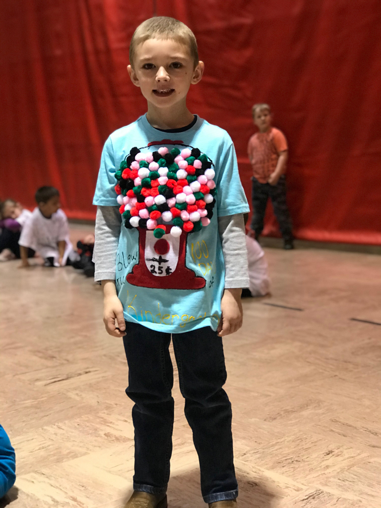 100th day of school fashion show