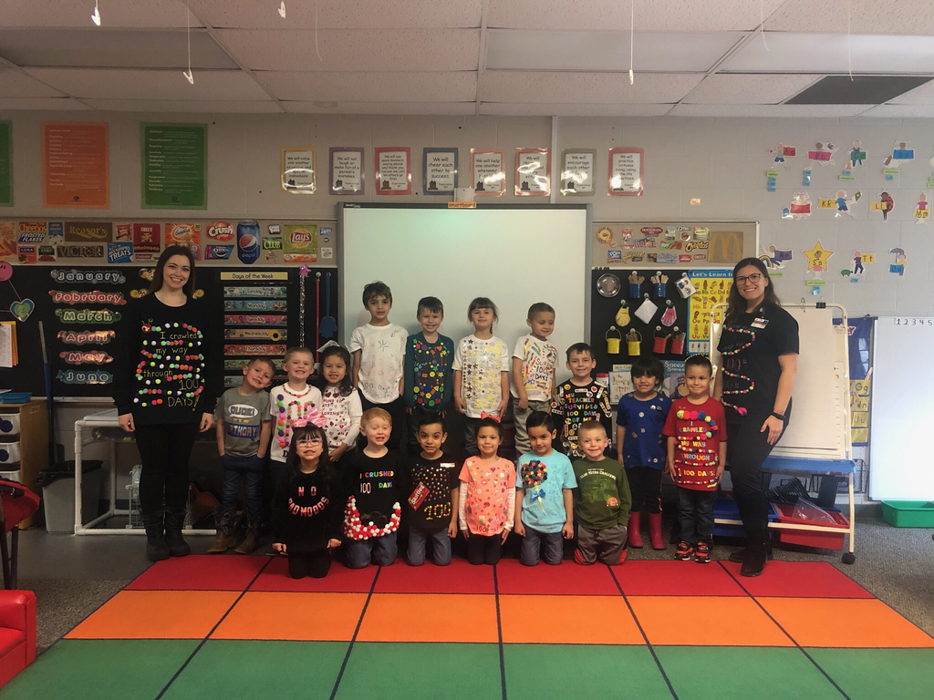 100th Day of School PreK shirts