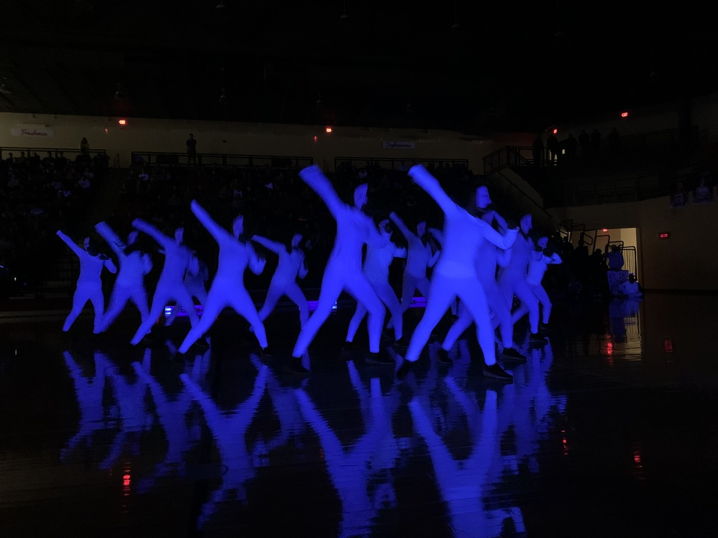 Claremore High School's GLOW ASSEMBLY is always a crowd favorite.