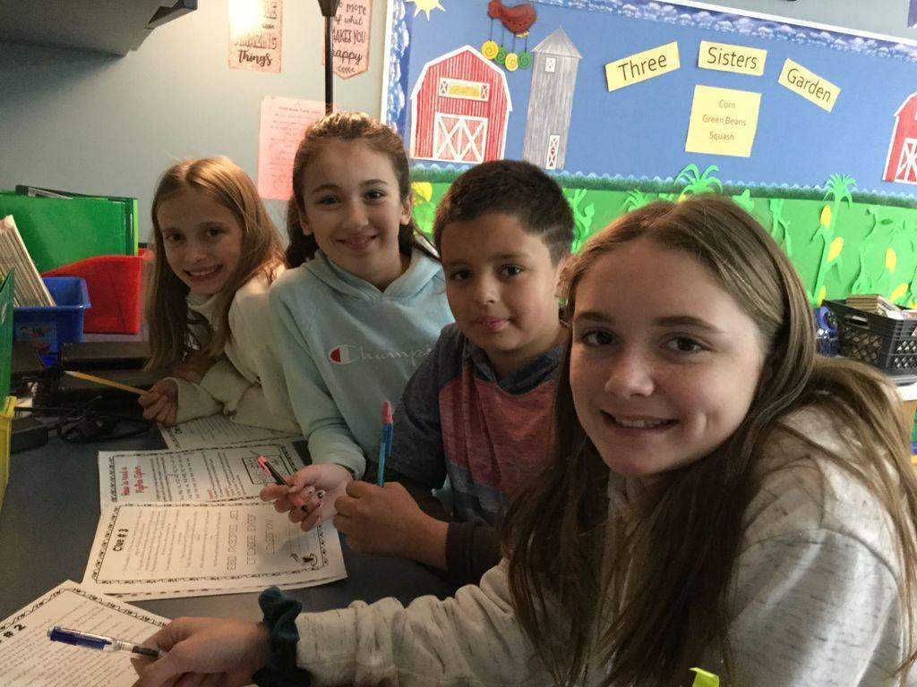 Mrs. Kropp's Social Studies Secret Agents are working on an escape room for history.