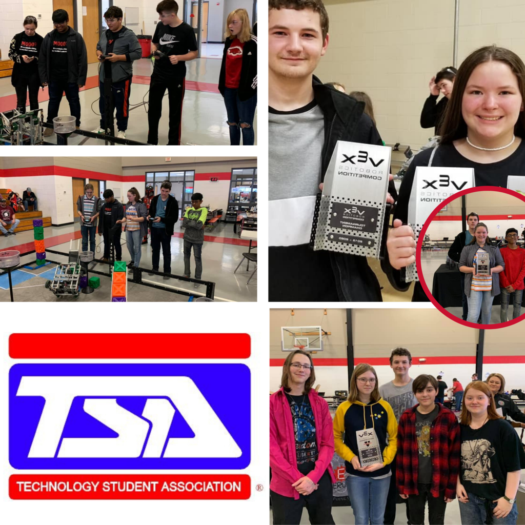 Claremore came away with eight of the fourteen top honors at the Verdigris VEX competition.